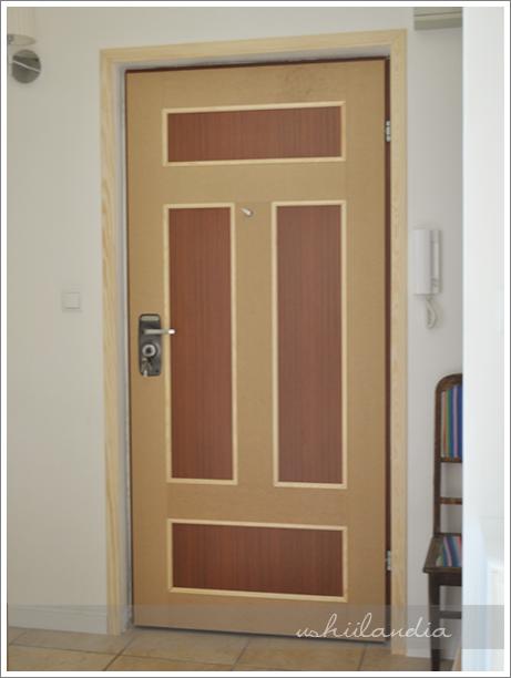odnawianie drzwi - w trakcie