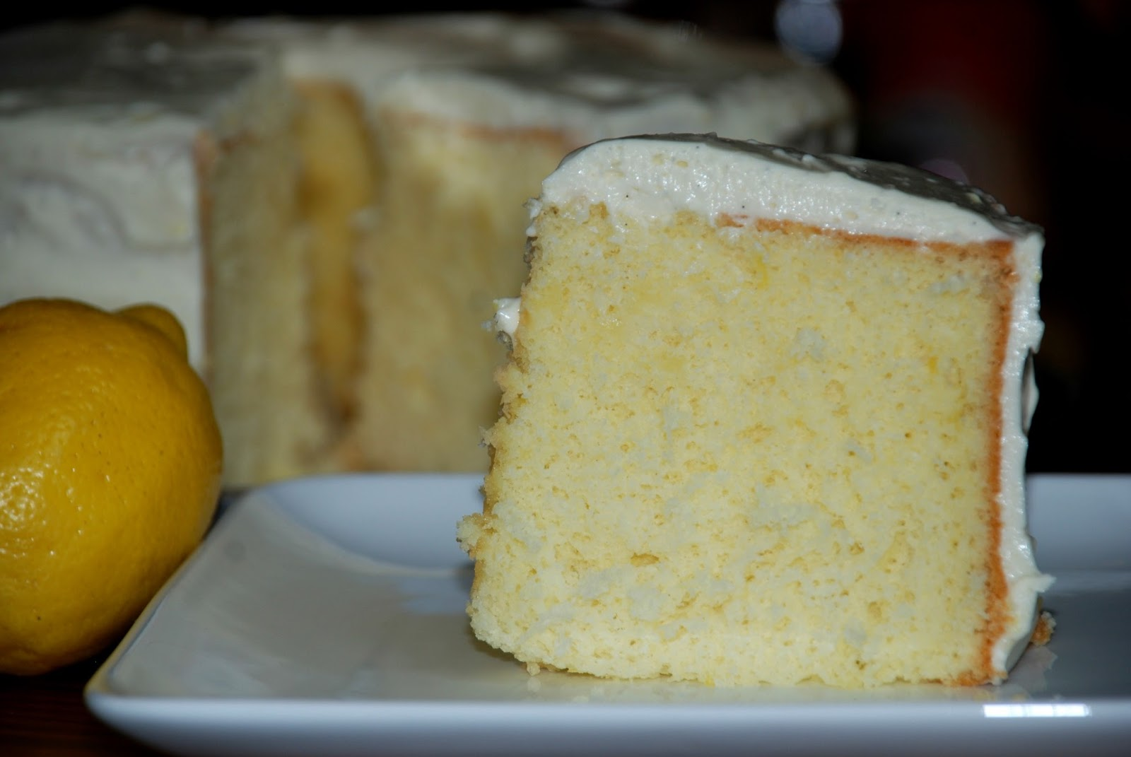 Living Rancho Delux: Baking Partners Challenge - Lemon Chiffon Cake