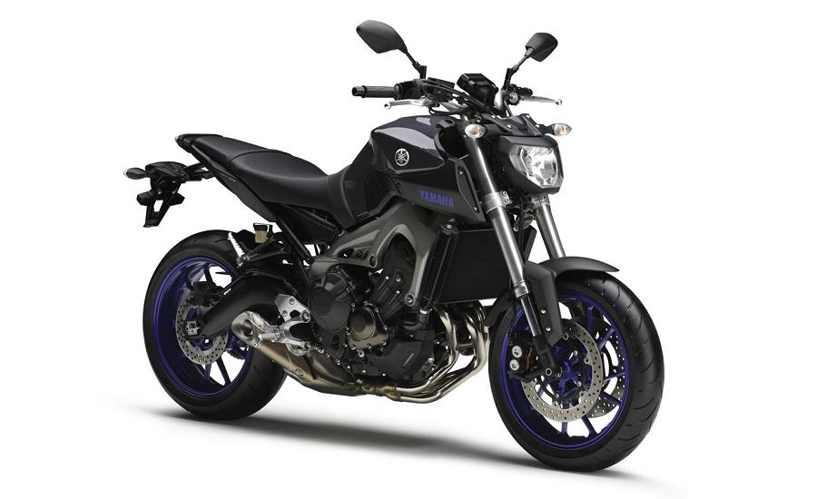 Yamaha MT-09 gets Race Blu treatment - Autoesque