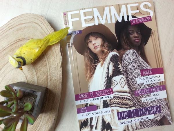 Le magazine Femmes en Bourgogne : mon nouveau projet