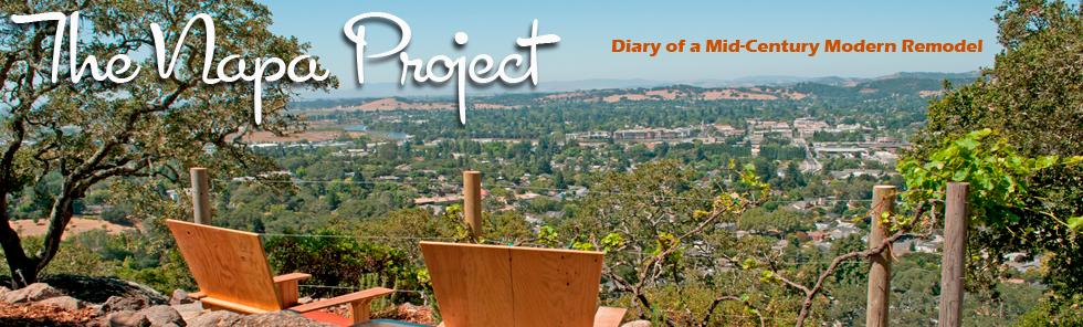 The Napa Project - Diary of a Mid Century Modern Remodel