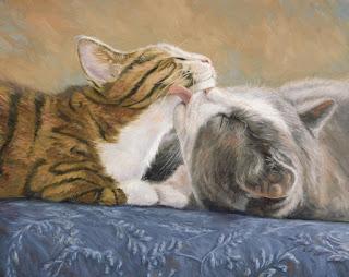 cuadros-en-oleo-de-gatos