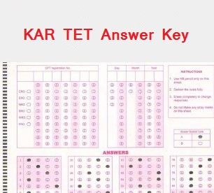 Karnataka TET Answer Key 2015