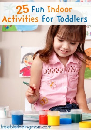 25 Fun Indoor Activities for Toddlers