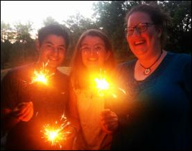 2015 Volunteers: Luis, Rosie, & Nina