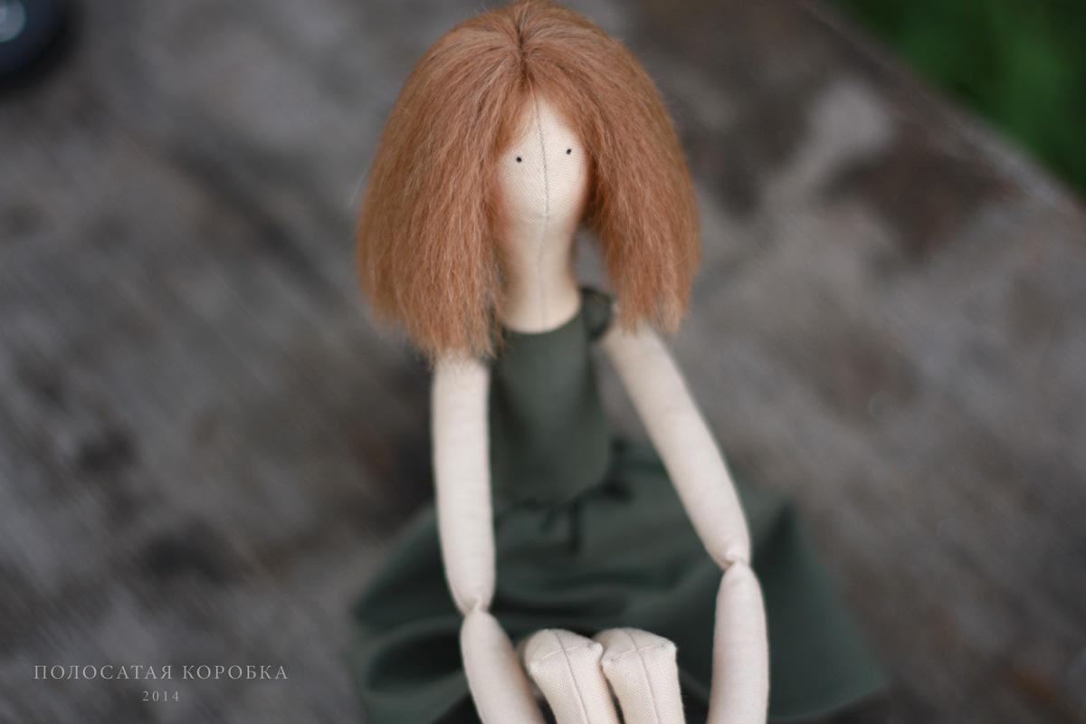 Портретная кукла археолог