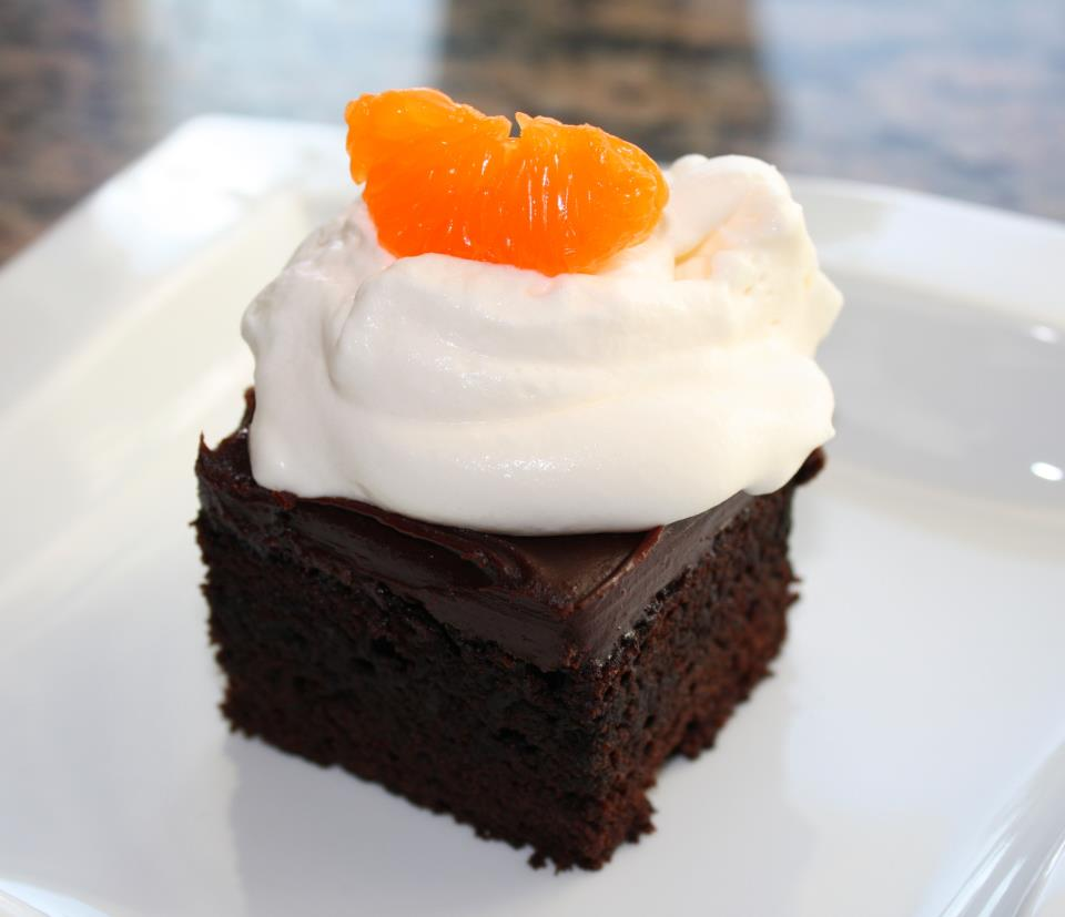 Dark Chocolate-Blood Orange Agrumato Cake with Blood Orange Ganache ...