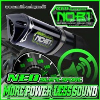 New Nob1 Neo Silent Exhaust System on Force Mx Acceleration