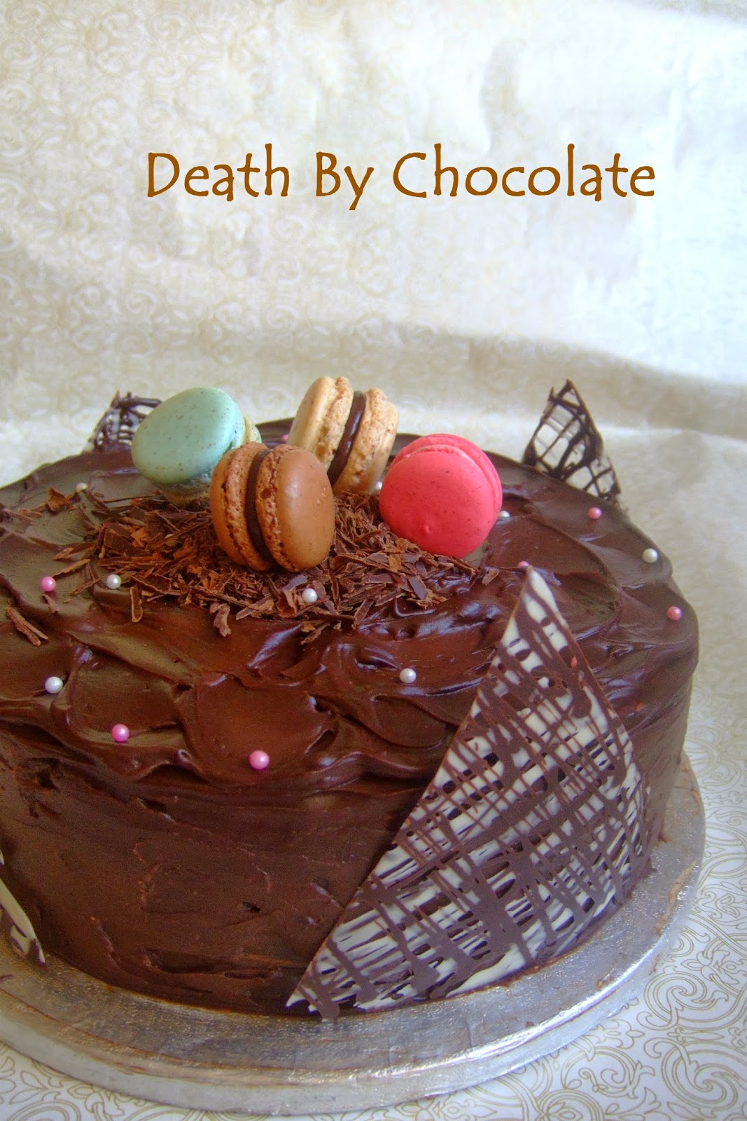 kachuss delights death by chocolate cake it 39 s my 200th. Black Bedroom Furniture Sets. Home Design Ideas