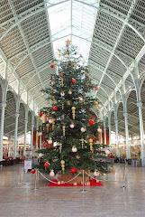 El Mercado Colón de Valencia se viste de Navidad