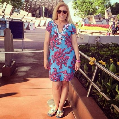 lilly pulitzer at disney brewster dress