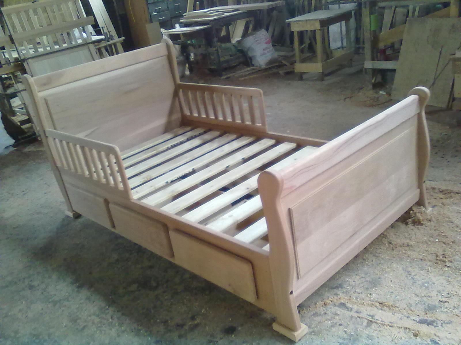 Muebles kotue camas con barandas de transici n for Cama transicion