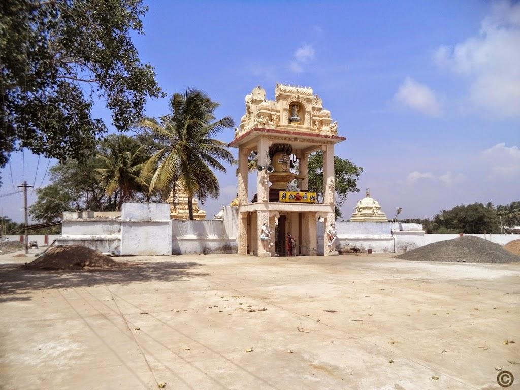 Theneeswarar Temple Entrance, Vellalore, Coimbatore
