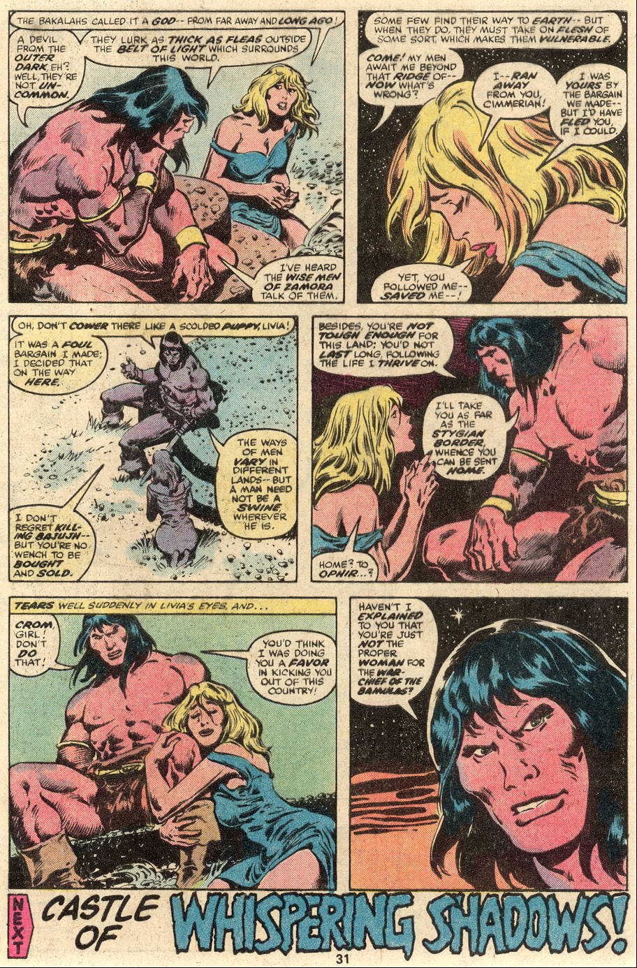 Conan the Barbarian (1970) Issue #104 #116 - English 18