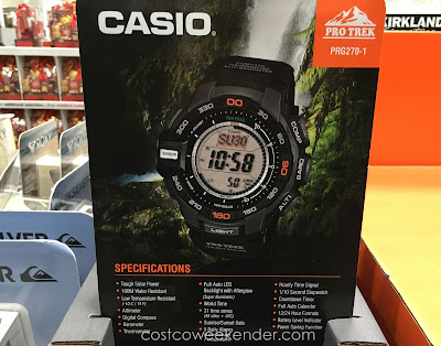 Casio Protek Solar Power Digital Watch (PRG270-1) – Powered by the sun