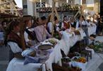 Mercado À moda antiga em Oliveira de Azeméis