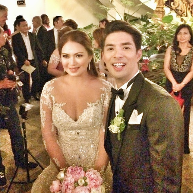 Photos: Joross Gamboa and Katz Saga wedding