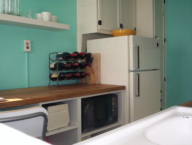 retro renovation for rental kitchen