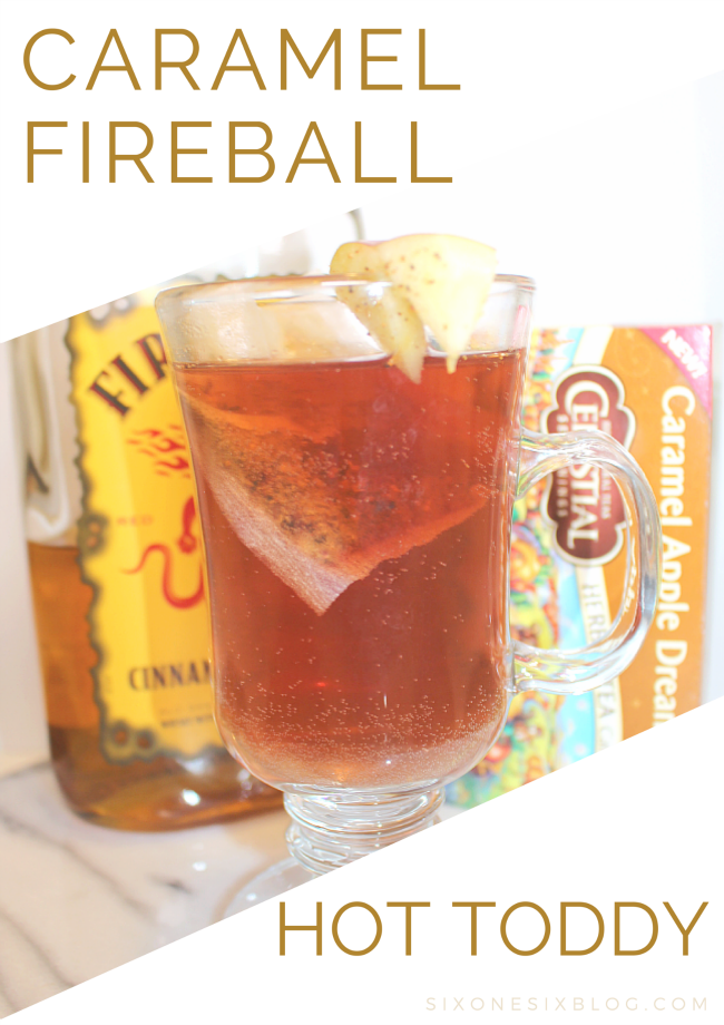 CARAMEL FIREBALL COCKTAIL