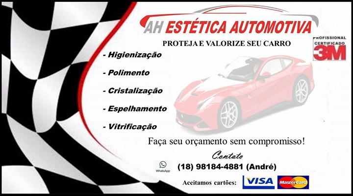DÊ UMA CARA NOVA E UM CUIDADO ESPECIAL PARA SUA MÁQUINA AUTOMOTIVA!!