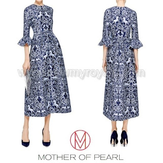 MOTHER OF PEARL Lyra Printed Dress