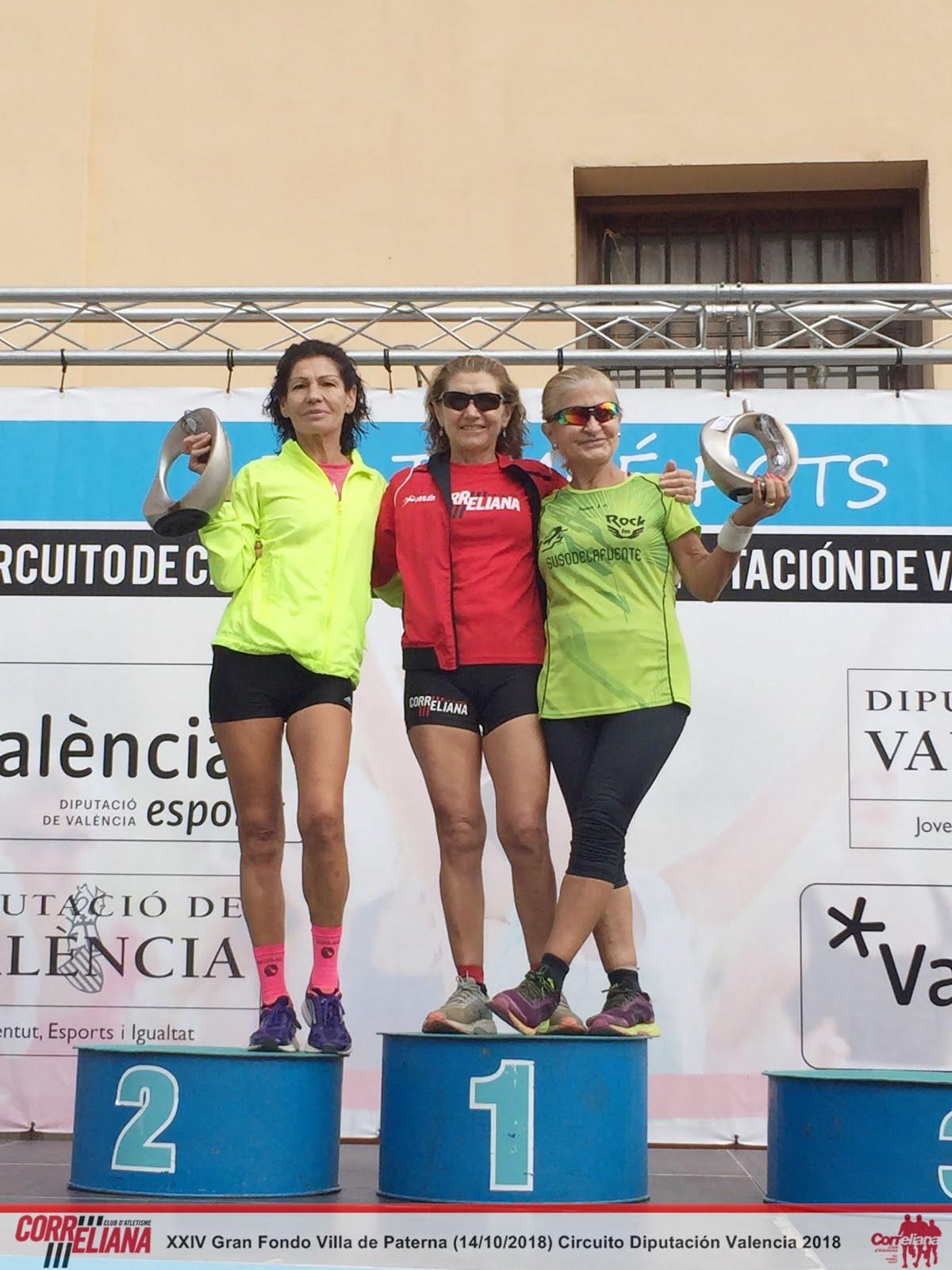 "MAGDA VILA GARCIA, 1ª VETERANA C ""XXIV GRAN FONS VILA DE PATERNA 2018-CIRCUITO DIPUTACIÓN VALENCIA"