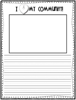 Social Studies Community Worksheets
