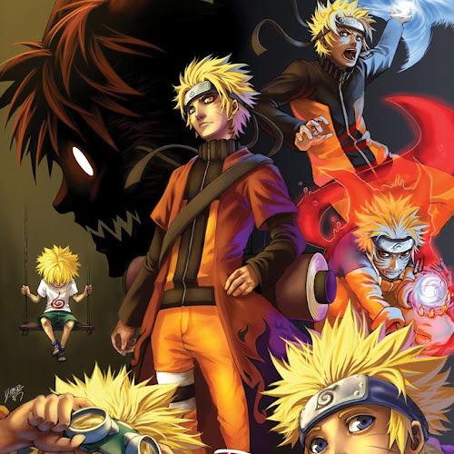 A evolução de Naruto [NARUTO]