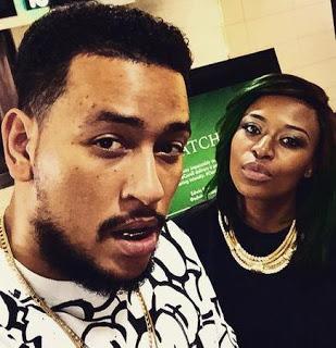 Dj Zinhle announced AKA and Bonang Matheba AFFAIR!