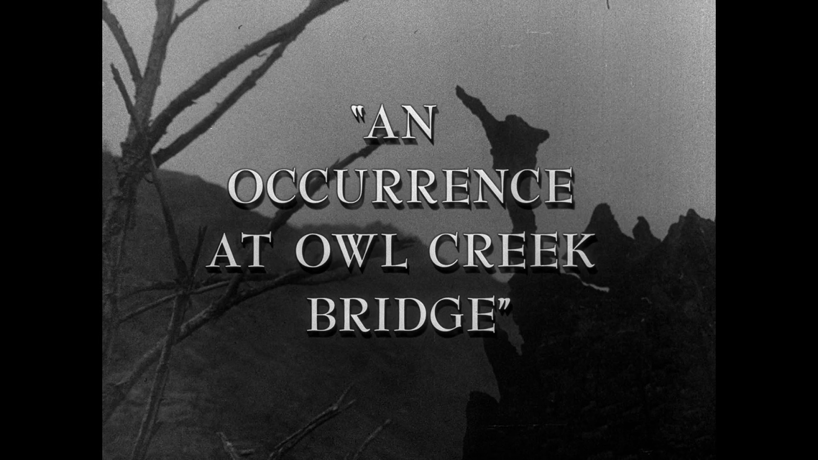 an analysis of an occurrence at An occurrence at owl creek bridge this book was converted from its physical edition to the digital format by a community of volunteers you may find it for free on the the condemned man stands on a bridge, his hands bound behind his back.