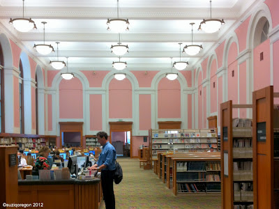 Multnomah County Library Central Branch Second Floor