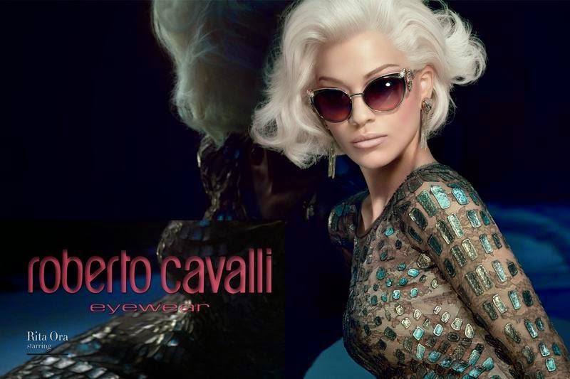 Nova campanha de óculos Roberto Cavalli - Inverno 2014
