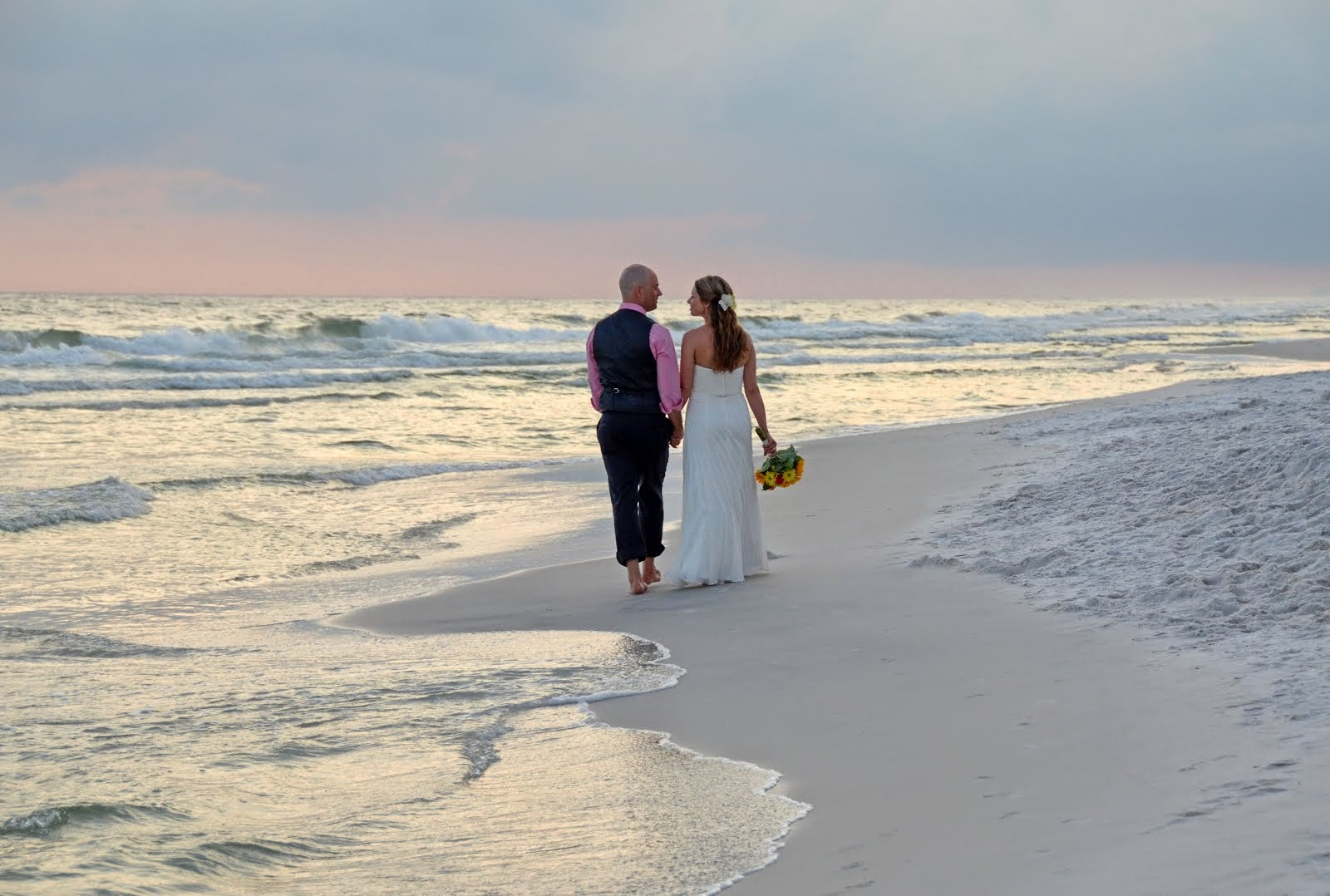 Sunset Beach Weddings July 2014