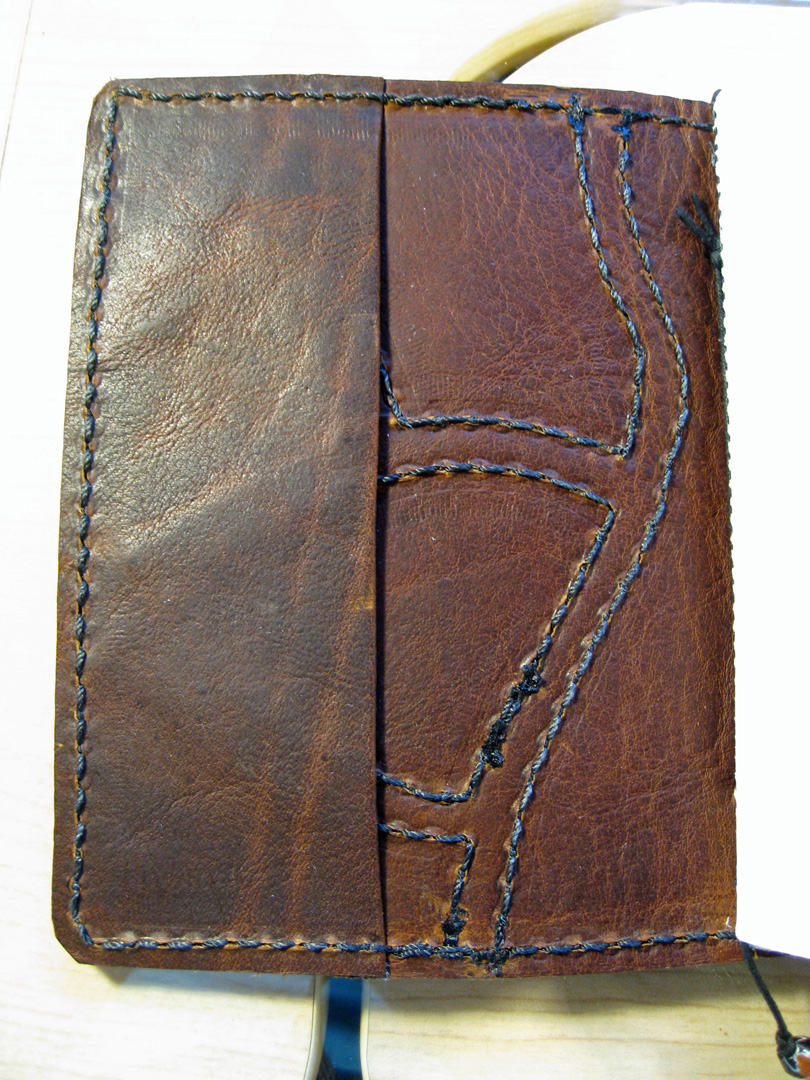 Fletion Classic Leather Cover Loose Leaf Notebook
