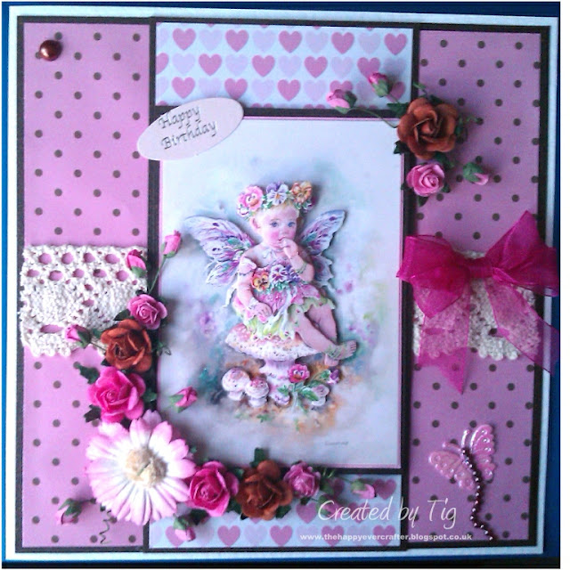 Fairy Poppet decoupage by Crafter's Companion