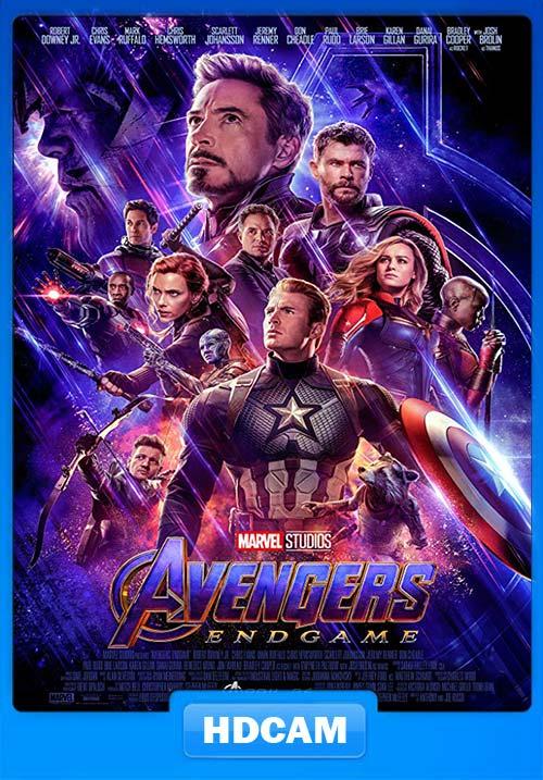 Avengers Endgame 2019 NEW 720p HDCAM x264
