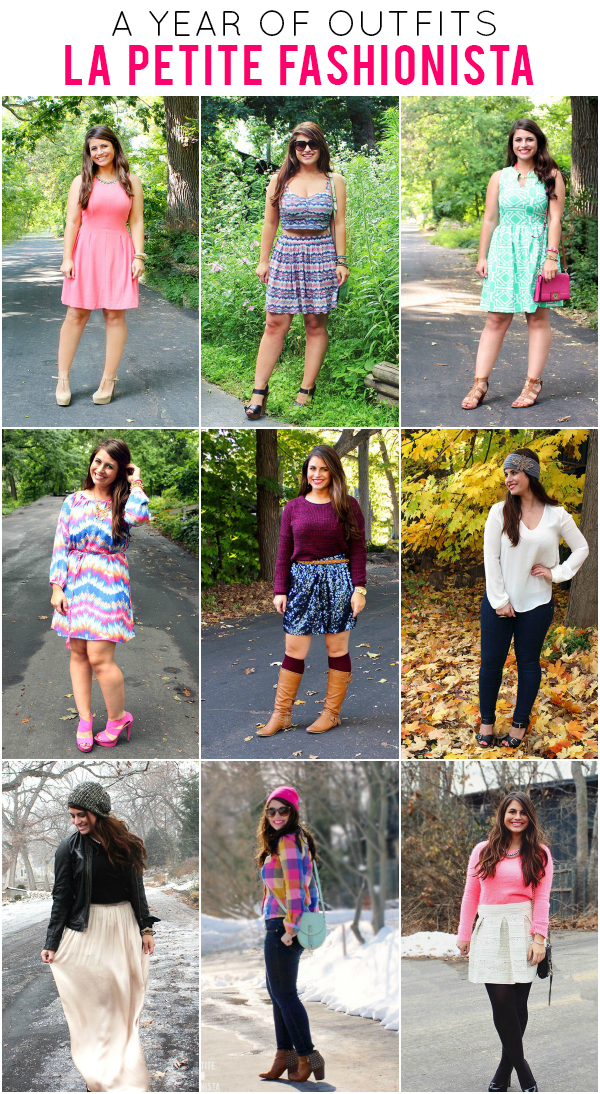 A Year of Outfit Ideas: La Petite Fashionista