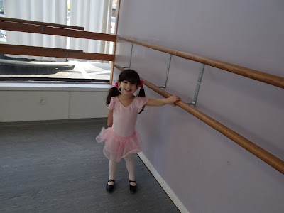 My Ballerina and my scheduling woes for my daughter!