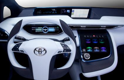 2015 Toyota Hydrogen Interior