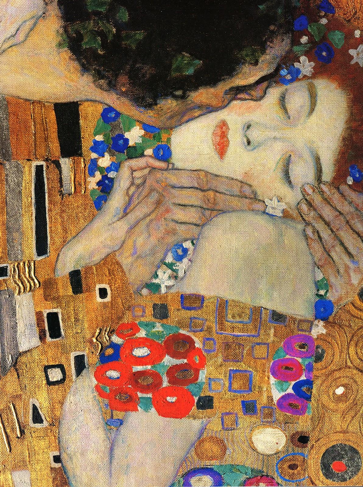 Klimt The Kiss Wallpaper Gustav Klimt: Gustav K...