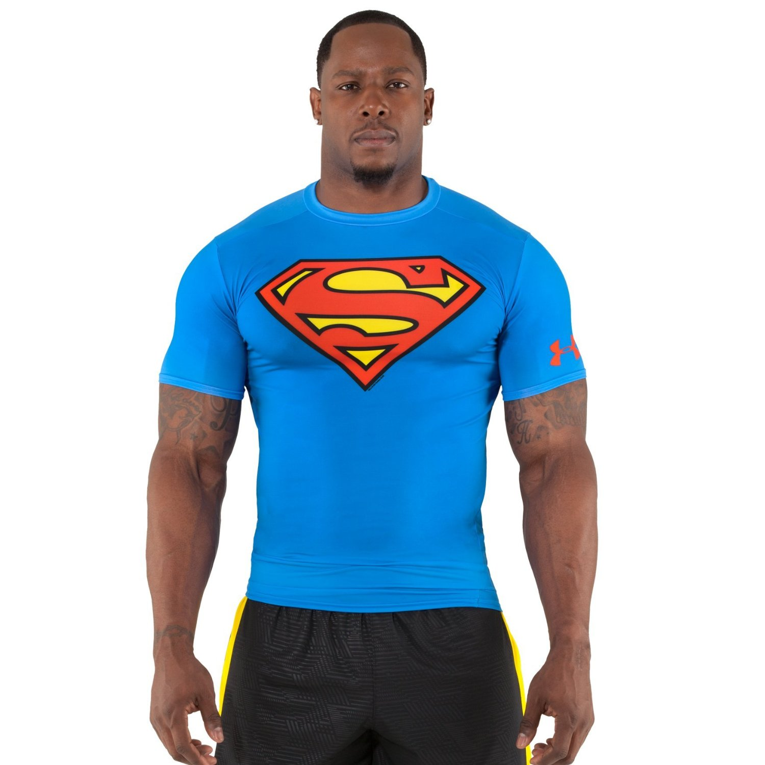 Fitness tips for men superhero under armour compression Fitness shirts for men