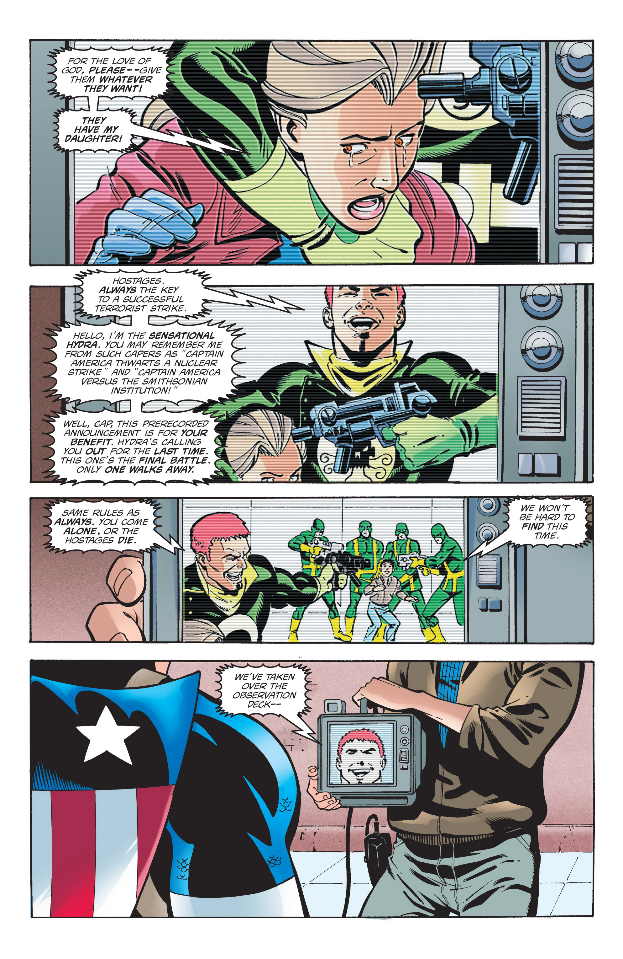 Captain America (1998) Issue #5 #8 - English 9