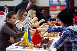 Echecs en Turquie : Ukraine 2½-1½ Chine lors de la ronde 8 © site officiel