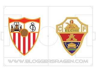 Prediksi Pertandingan Elche vs Sevilla
