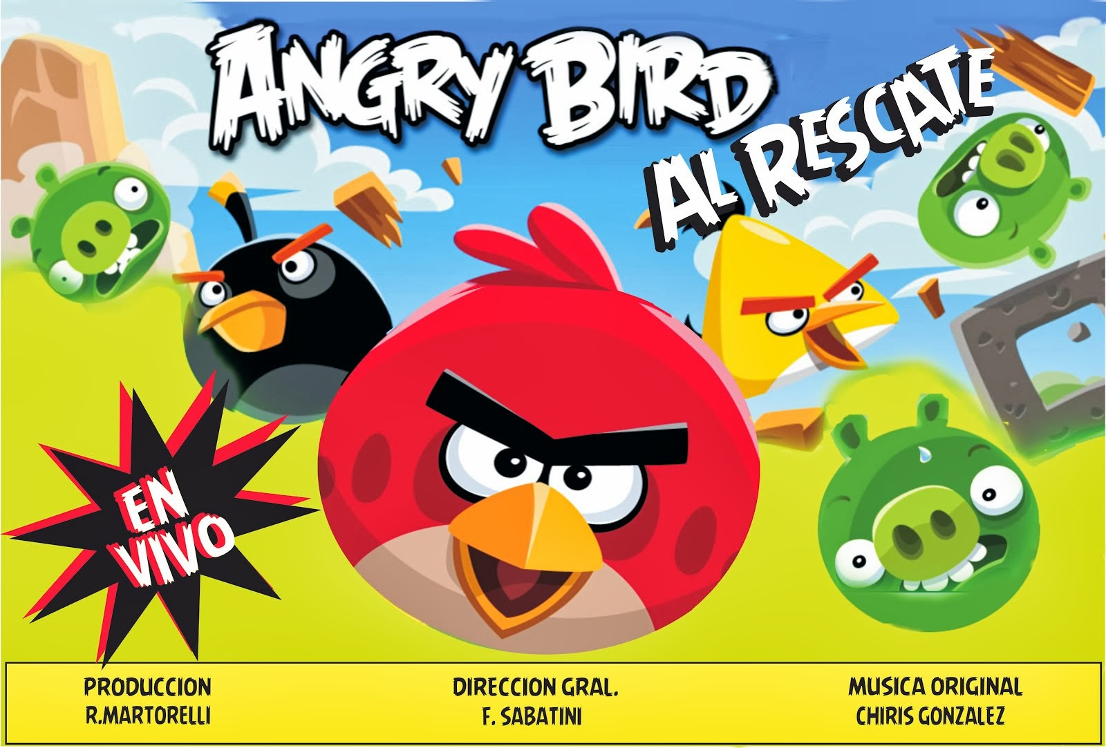 ANGRY BIRDS ( Espectaculo Infantil )