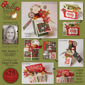 Holly Jolly Pop-up Cards