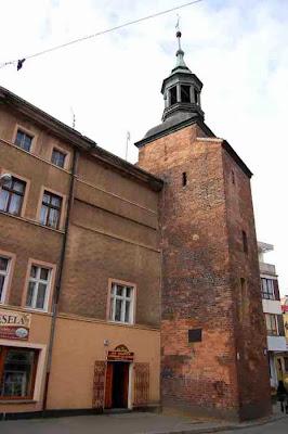 Wieża Łazienna nazywana też Głodową