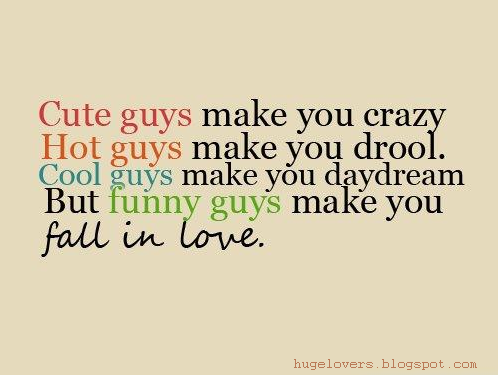 Funny Quotes About Boys And Love : Huge Lovers Quotes: Fall In LOVE