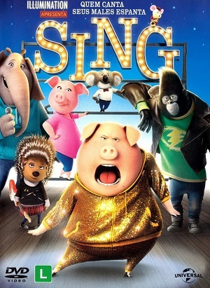 Sing - Quem Canta Seus Males Espanta Blu-Ray Filmes Torrent Download completo