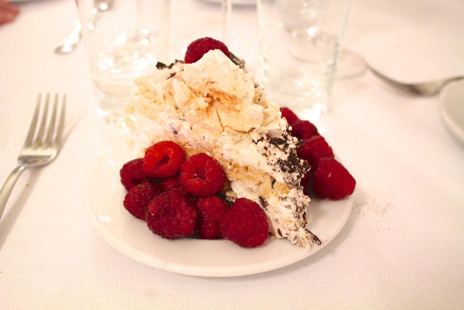 Trattoria Sostanza Firenze dessert